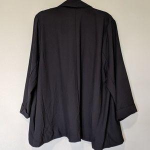 torrid Jackets & Coats - Torrid Black Crepe Boyfriend Blazer sz 3